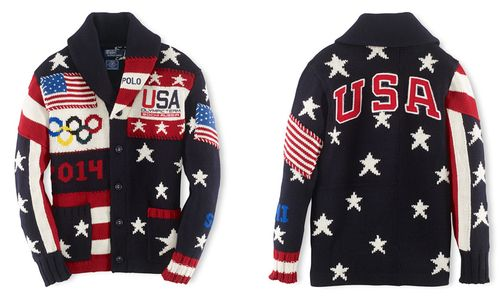 USA Olympic sweaters_Polo