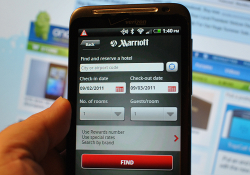 Marriott-android-app